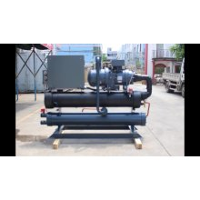 Professional Plastic industry Water Screw Open Chiller