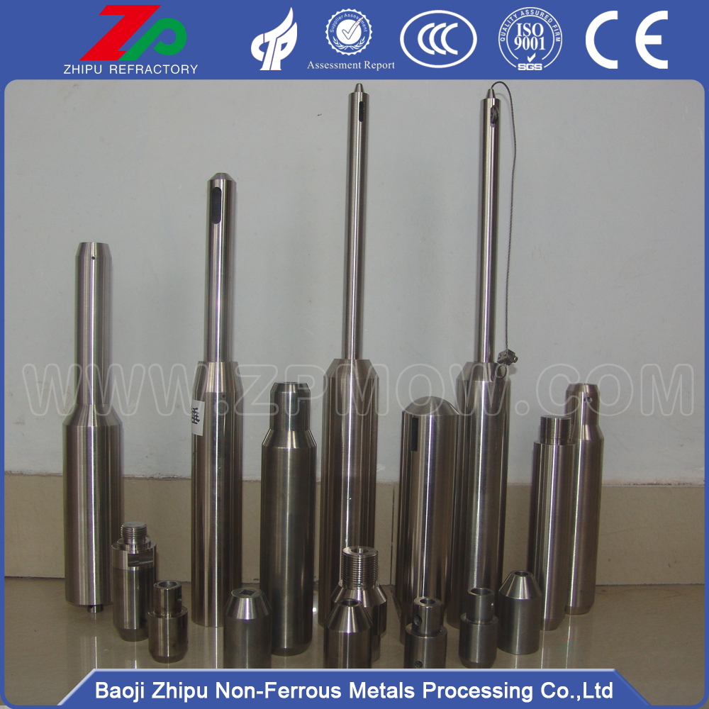 Molybdenum heavy hammer for monocrystal growth furnace