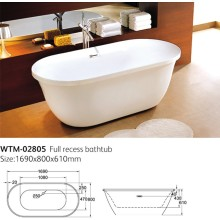 Interesting New Style Bathtub Wtm-02805