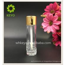 10 ml 12 ml luxo colorido transparente vazio perfume cosmético embalagem frasco de corretivo de vidro