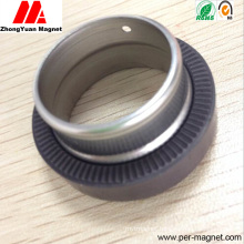 Injection Plastic Ferrite Magnet with Shaft Assembly