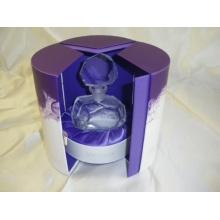 Caixa de empacotamento do presente de papel elegante profissional feito sob encomenda do perfume do logotipo