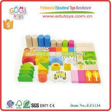 Juguete de China Mejor Regalo Woodland Forest Animal Niños juguete ladrillos para niños y niñas
