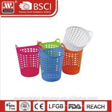 cesta de lavanderia plástica nova