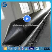 Airbag gonflable en caoutchouc de lancement de bateau fabriqué en Chine
