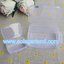 Small Rectangle Plastic Box Clear Plastic Organizer Storage Boxes