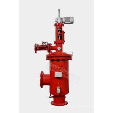 Succión automática del filtro de agua autolimpiante