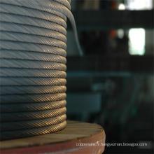 Fil galvanisé de toron de fil d'acier pour le câble de rf