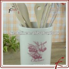"""6 """"Clasical porcelana titular de herramientas de cerámica para el hogar"""