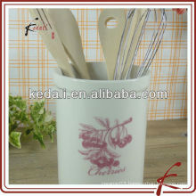 "6"" Clasical Porcelain Ceramic Tooling Holder For Home"