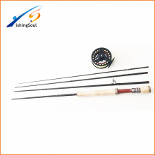 FYR008 nano carbon fiber saltwater fly fishing rod with fly rod case