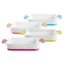 plato rectangular para hornear, de gran tamaño