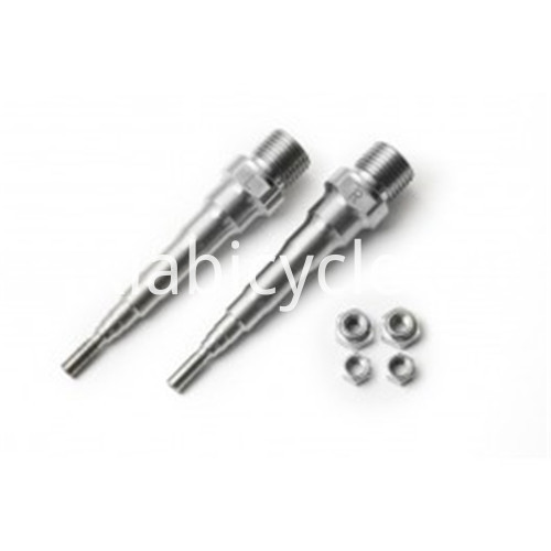 Titanium Bike Parts Pedal Axle