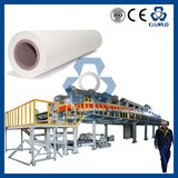 China supply sublimation heat transfer paper coating machine