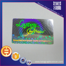 Hot Laser 3D PET Hologram Label Seal