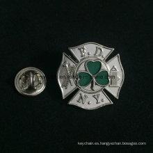 Insignias suaves promocionales del logotipo de la marca del esmalte de metal grabado en relieve