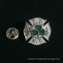 Promotional Metal Embossed Soft Enamel Brand Logo Badges