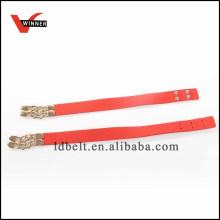 Hochwertiges Kunstleder 2 Stück verstellbarer PU-Gürtel