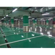 Epoxy flat coating floor paint for parking lot