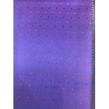Purple ​Two Tone Dot Dobby Lining
