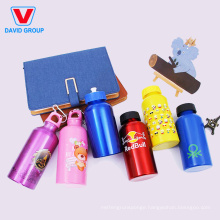 Custom Wide Mouth Aluminum Metal Sports Water Bottle