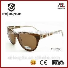 Senhoras personalizadas acetato óculos de sol 2015