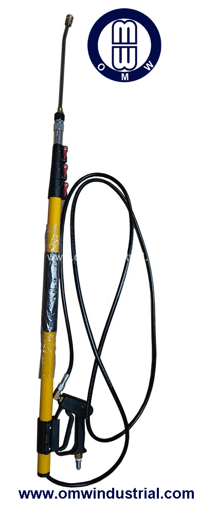 China 12 Ft 3200 Psi Pressure Washer Telescoping Wand