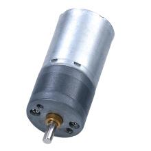 Motor elétrico de 25mm com engrenagem de redução 6Volt 300RPM