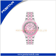 New Pink Color Vogue Watches for Women 2016