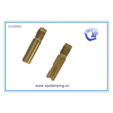 Chinese hot sale brass adjust axis , hardware parts