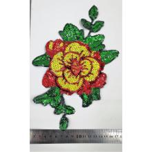 Good User Reputation for Applique Sequin Patches OEM Flower sequin patch supply to France Exporter