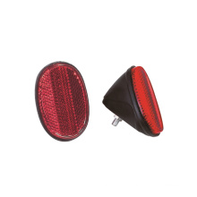 New Bicycle Red Reflector with Plastic material (HRF-013)