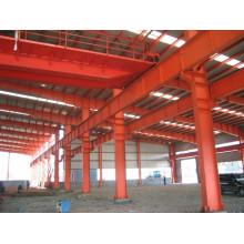 Techo de panel sándwich para taller prefabricado de acero estructural