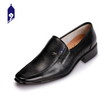 Onde incrível acontece marca de couro patente sapatos de corte alto para os homens