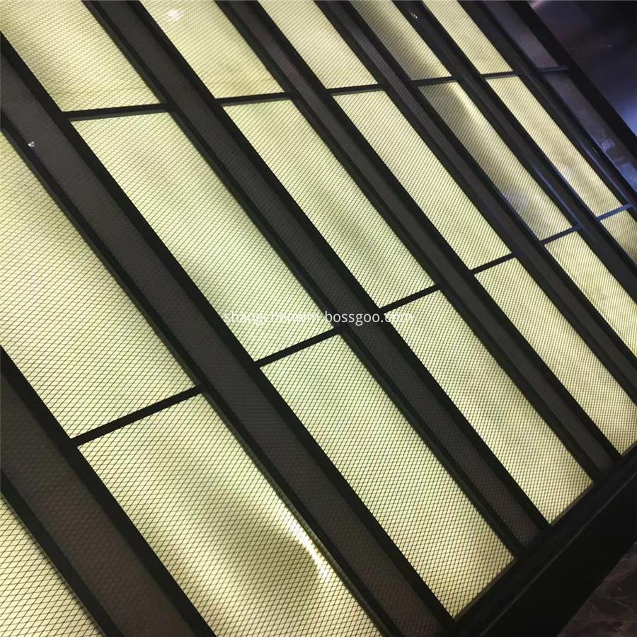Decorative Window Wall