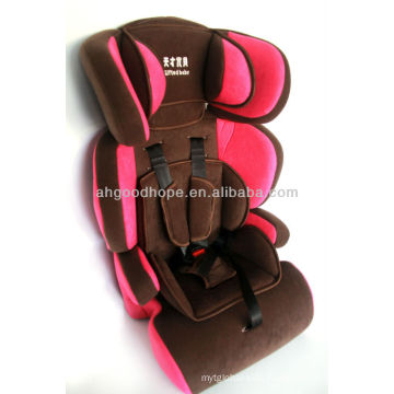 2015 hot sell good quality Child car seat for safety with ECE R44/04 for group 1+2+3 (9-36kgs, 1-12 year baby)