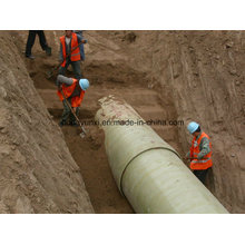 FRP oder GFK Sand Pipe für Wasser oder chemische Industrie
