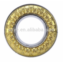 China manufacturer home decor modern curtain eyelet ring for fancy curtain rods