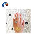 Etiqueta temporária metálica instantânea do tatuagem para o casamento da noiva, etiqueta fácil da transferência