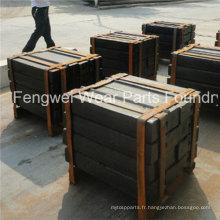 Barre de coup de pièces de rechange de concasseur à percussion Hazemag Haz791 Haz792 Haz 795 Haz797