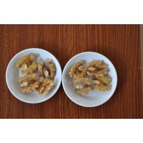 Green healthy organic walnut kernel