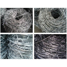 Anti Climb Double Strand Barbed Wire