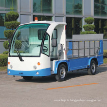Véhicule électrique d'ordures de camion de poubelle de marque de marais (DT-8)