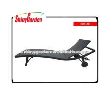 salón de mimbre al aire libre, silla reclinable de mimbre al aire libre, juego de comedor de playa de mimbre