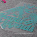 Wholeslaes Design personalizado impresso rótulo de calor na roupa