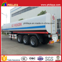 3axles 40-55cbm Chemical Tanker Semi Trailer for Sulfuric Acid