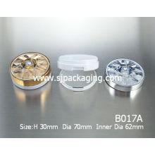luxury compact powder case