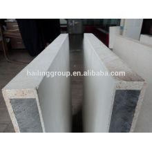 """Fabrication ignifuge MgO oxyde de magnésium EPS / EPS SIP panneau de mur """"sandwich"""" pour mur externe"""