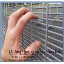 """L'usine de la Chine fournissant 8 guage 0.5 """"x3"""" maille compter la barrière protectrice de la barrière 358 clôturant la sécurité anti grimpent les panneaux de maille"""