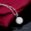Collar colgante de plata de ley 925 para mujer con cadena